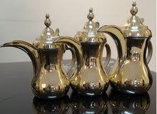 3 حبات دلال قهوة نحاس اصلي سورية نخب اول عالية الجودة