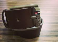 حزام جلد طبيعي