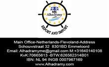 شركة الحضرمي للتصدير والاستيراد هولندا