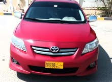 For sale 2010 Red Corolla