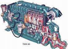 محرك بحري نوع فولفو