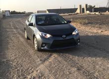 For sale 2014 Turquoise Corolla