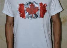 تيشرت قطن شبابى كندا بخامات و جودة عالية
