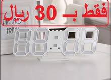 ساعة رقمية بتصميم انيق للمنزل او المكتب