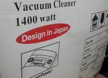 فرصة مكنسه كهربائية بحالة جيدة 1400 وات استعمال 3 شهور