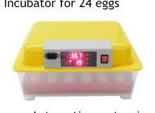 فقاسه بيض صيني استعمال بسط .48بيضه بحاله جيده