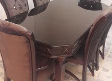 طاولة سفرة 8 كراسي تفصيل بأسعار متميزة *%$#