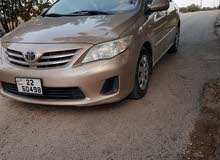 Gold Toyota Corolla 2011 for sale