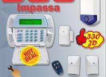 أحدث أجهزة انذار السرقة DSC Impassa  اللاسلكي الكندي