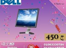 عرض رمضان لسه مخلصش شاشه Dell 17 LCD بسعر ممتاز