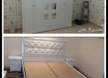 غرف نوم جديده وطني 6قطع مع التركيب 1300