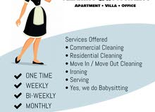 Maid/Cleaning Services