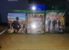 Xbox one..GTA5. Watch dogs 2..The DIVISION