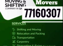 best house moving services in qatar call.77160307