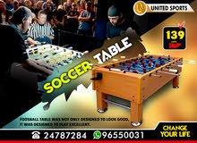 Professional Soccer Table