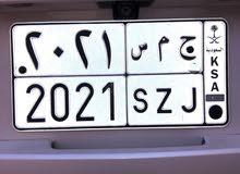 لوحة مميزه جمس2021 ( ح م س 2021 )