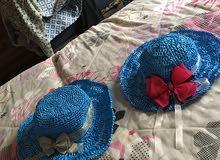 قبعات للبنات الصغار للبيع