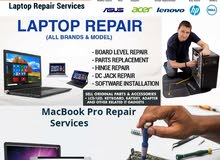 Laptop and Macbook Repair services in Bahrain