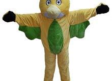 لباس شخصية (Angry Birds ) اللون الاصفر للبيع او الايجار باسعار مميزه من فريق الابتسامه للاطفال