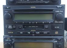 Toyota original Cassette and media players (NO GUARANTEE) مسجلات تيوتا اصلية