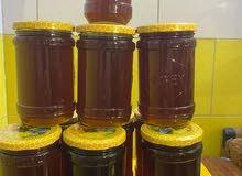 عسل السدر الطبيعي وعسل القداح الطبيعي