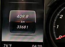 مرسيدس بنز C 300 موديل 2015 اسود ملكي