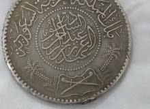 ريال سعودي من أيام ملك المملكه العربية السعودية عبدالعزيز بن عبدالرحمن آل سعود ر