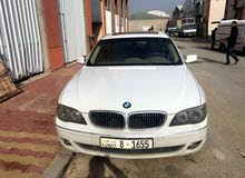 km mileage BMW 740 for sale