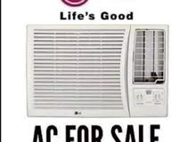window a.c for sale good conditions