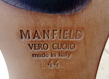 MANFIELD VERO CUOIO MADE IN ITALY