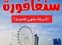 تـأشيرة -سنغافورا- من دون حضور
