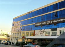 محل تجاري مساحة 41م للبيع في منطقة السابع (شركة رائد خلف للاسكان)