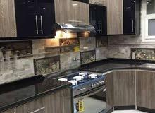 مطبخ مصنع من الكونتر الخشب المكسي من الوجهين بطبقة ملامين ضد المياه والحريق والح