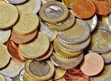 للبيع عملات معدنية مشكلة عدد تقريبا 2200 قطعة