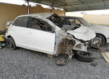 للبيع قطع غيار لتويوتا ياريس موديل 2011