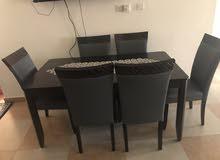 طاولة طعام من 6 كراسي