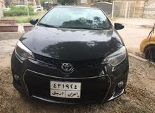 Automatic Black Toyota 2016 for sale
