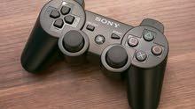 دراعات PS3 للبلايستيشن 3 استعمال أصلى وفرست كوبى بحالة جيده