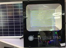 كشاف الطاقة الشمسية و كهرباء و ليدي LED موديل جديد