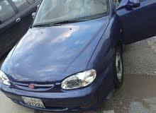 Manual Blue Kia 1997 for sale