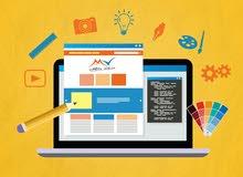 باحث عن عمل في مجال تصميم جرافيك و تصميم وتطوير مواقع الويب و تطبيقات سطح المكتب