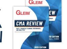 كتب CMA GLEIM 2020 ارخص سعر بالعالم