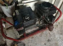مولد كهرباء مع لحام و نظام تدفئة ومكيفات وطابعات للبيع او البدل