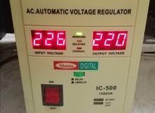 محول ومنظم كهرباء ياباني شغل 110 و220 جميع الاحجام والمقاسات