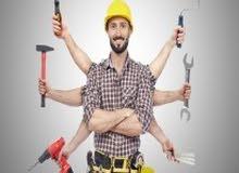 صيانة عامة .للمنازل والشركات .