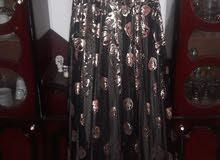 فستان سهرة مستخدم مرة واحدة مقاس 38 للبيع ب 50 دينار