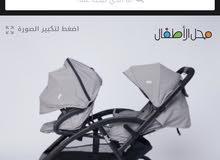 عربية اطفال مزدوج من سنتر بوينت استخدام قليل جدا نظيفة
