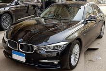 BMW 320i 2017 بحاله جيده للبيع