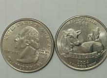عملة امريكية ترجع لسنة 2004 للبيع لمن يهمه الامر رقم 0612899177