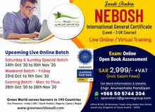 Enroll Nebosh IGC Online Course Training in Saudi Arabia